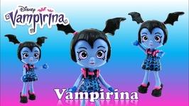 Vampirina Doll Custom Disney Junior Shoppie DIY Toy