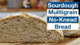 Sourdough Multi Grain No-Knead Bread