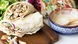 Grilled Chicken Shawarma Wrap