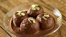 Instant Chocogulla - How To Make Chocolate Rasgulla - Easy Dessert