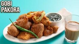 How to Make Gobi Pakora/ Crispy Gobi Pakora Recipe/ MOTHER's RECIPE/ Cauliflower Pakoda