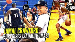 Jamal Crawford Crazy Dimes In Isaiah Thomas' Zeke End Game And 3rd Crawsover Game Highlights