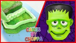 Frankenstein Halloween Cake  (How To)