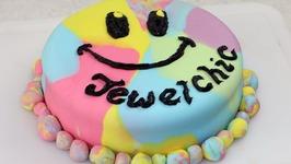 Double Rainbow Choc-Banana Cake Ytom - Jewelchic