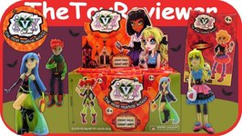 Ivy School Blind Bags Full Case Halloween Box Gummy Candy Fresh Toys Unboxing Review