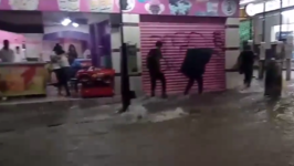 Floodwaters Rush Down Streets of Chiapas' Capital