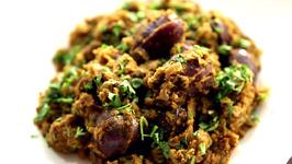 Bharli Vangi - Maharashtrian Style Recipe By Archana In Marathi