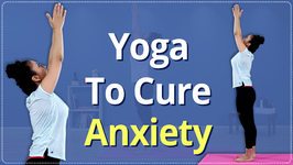 How To Treat Anxiety And Stress Treat Stress In 3 Minutes Simple Yoga Lessons Beginners Yoga