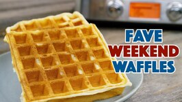 Our Fave Weekend Waffles Recipe