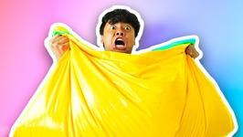 DIY How To Make FLUFFY SLIME BEAN BAG