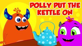 Polly Put The Kettle On - Momo Beats - Kindergarten Nursery Rhymes For Children - Kids Channel