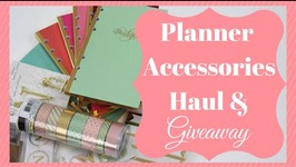 Recollections Planner Accessory Shopping Haul & Planner  Michael's Haul