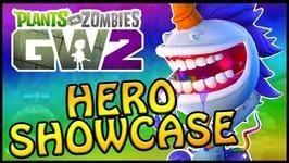 ONE OF A KIND HERO SHOWCASE - Plants vs Zombies Garden Warfare 2