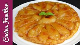 Tarta tatín con peras de La Rioja, receta de tarta tatín muy fácil  Recetas de Javier Romero