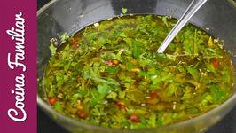 Como hacer salsa chimichurri para asados - Recetas caseras