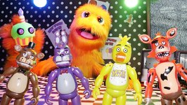 FNAF Toys Come To Life! Snowflake Is Scared!! Five Nights At Freddy's Toy Play For Kids
