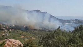 Wildfire Threatens Homes, Injures Firefighter in Southern Croatia