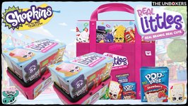 Shopkins Real Littles with Collector Case & Exclusive Shopkin