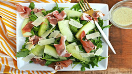 Salad Recipe - Easy Melon And Prosciutto Salad