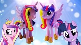 Princess Cadance And Twilight Sparkle Split Custom MLP Pony
