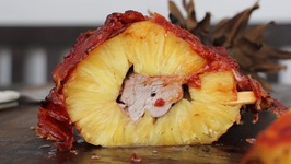 Swineapple - Pork stuffed Pineapple