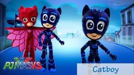 DIY Custom PJ Masks Catboy My Little Pony Equestria Girls Minis Tutorial Disney Jr