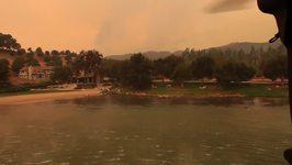 California National Guard Drops Water on Thomas Fire