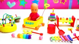 10 Easy DIY Miniature Baby toys - Each in less than 1 minute