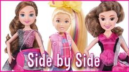 JoJo Siwa vs Maddie & Mackenzie Ziegler Dance Moms Dolls Showdown