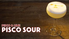 1903 Pisco Sour Cocktail Recipe Peru Or Chile