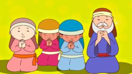 Holy God, We Praise Your Name- Prayer Song For Kids