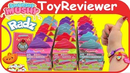 Radz Smooshy Mushy 3in1 Surprise Boxes Candy Dispensers Unboxing Toy Review