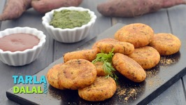 Sweet Potato Tikki - Shakarkand Tikki