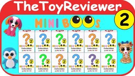 TY Mini Beanie Boo's Collectibles Hand Painted Series 2 Blind Unboxing Toy Review by TheToyReviewer