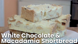 White Chocolate And Macadamia Shortbread