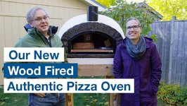 Delivery And Setup Of Our Authentic Pizza Oven