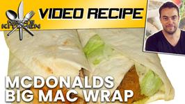 McDonalds Big Mac Wrap