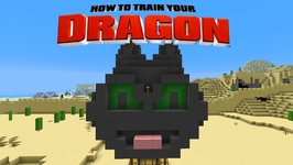 Minecraft - HOW TO TRAIN YOUR DRAGON - Toothless Air Balloon 38