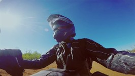 Take it to the edge - Outback Motorcycle Adventure