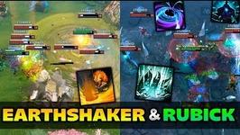 Dota 2 Earthshaker and Rubick Moments