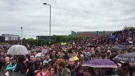 Thousands Turn Out for Jeremy Corbyn Rally in Gateshead