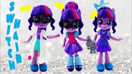 My Little Pony Equestria Girls Minis Twilight Sparkle Sci-Twi Switch In Mix Fashions Playset Review