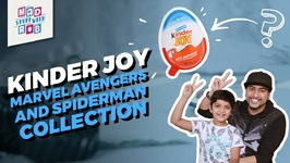 Kinder Joy - Marvel Avengers And Spiderman Collection