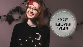 You'll Be Beaming In This Halloween Sweater Creation