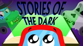 Stories Of The Dark Car Songs And Rhymes For Kids - Little Red Car