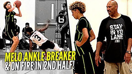 LaVar Ball Didn't Approve of LaMelo's Shot In Crunch Time - What U Think Melo Catches FIRE In 2nd