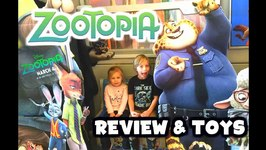Zootopia Kid Review And Unboxing Of New Toys From Disneys Zootopia With Judy Hopps And Nick Wylde