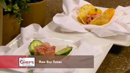 Chef David Banks - French Inspired Ahi Tuna Tartare