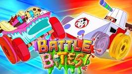 Race Off - Battle Bites Video - Savage Slice VS Chargin Chip - Kids Cartoon