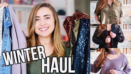 Huge Winter Try On Haul 2017 - My Biggest Haul Ever